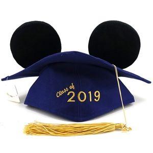 Disney Class Of 2019 Mickey Ears Graduation Cap
